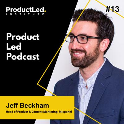 Cover art for The 2020 State of Product Analytics with Jeff Beckham, Head of Product and Content Marketing at Mixpanel