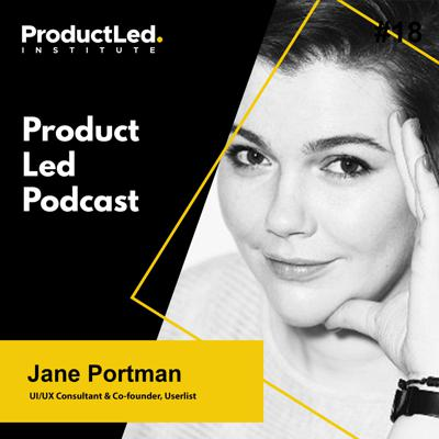 Cover art for Why $9/Mo is Better than Freemium with Jane Portman, UI/UX Consultant & Co-founder of Userlist