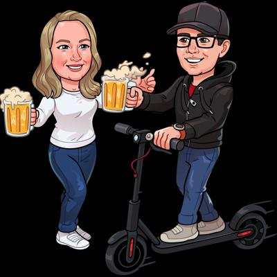 Scooters and Brews