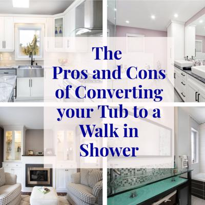 Cover art for Pros and Cons of Converting your Tub to a Walk in Shower