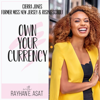 Cover art for Cierra Jones// From Miss New Jersey to a Rising Scholar, and Dancing Her PHD!