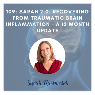 Cover art for Sarah 2.0: Recovering from Chronic Brain Inflammation - a 12 Month Update