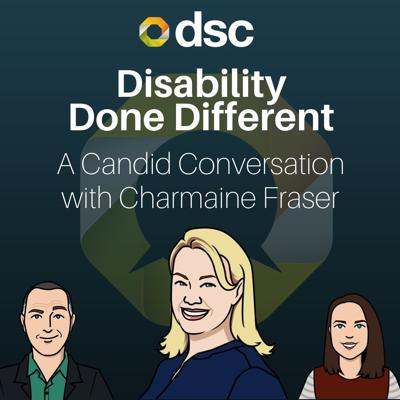 Cover art for Charmaine Fraser on...the NDIS Tango