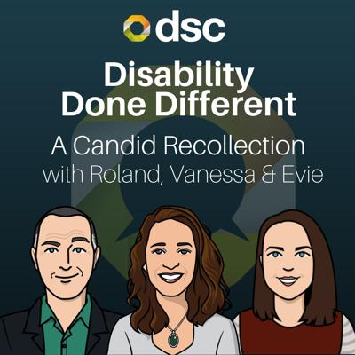 Cover art for Disability Done Different: Candid Recollections. Sh*t that happened