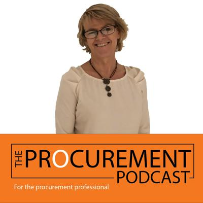 Cover art for Episode 003: Procurement's role in Implementing Business Solutions with Jo Bailey