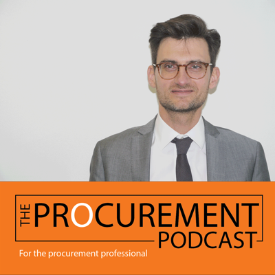 Cover art for Episode 005: The Role of Strategic Procurement with Jean-Michel Carriere