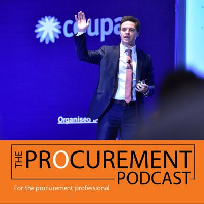 Cover art for Episode 007: High Performance Procurement with Rob Halsall
