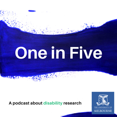 One in Five explores some of the most complex issues facing people with disability today. In Australia, one in five people live with disability. The podcast gives voice to people with disability and asks about their experiences with employment, housing, the law, supporting families and early intervention. A range of experts including people with disability, researchers and people working in the sector talk about what we can do to improve the lives of people with disability.  Tile art image credit: Sharon Flanaghan