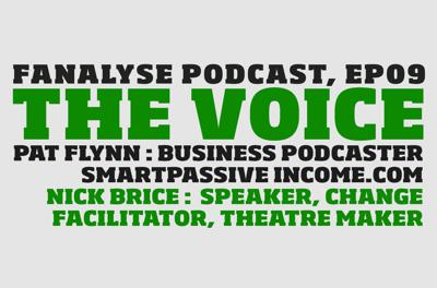 Cover art for THE VOICE, Ep09: PAT FLYNN, NICK BRICE