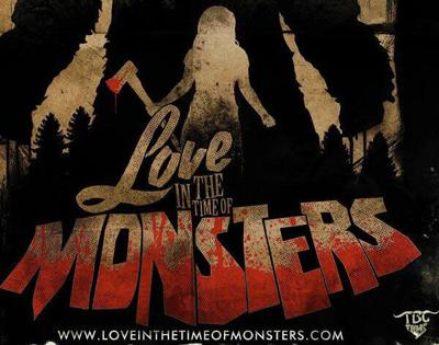 Cover art for Love In The Time Of Monsters - movie review