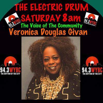 Cover art for Electric Drum 04/10/18 w/ Veronica Douglas and New Haven Reads