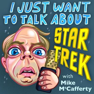 Mixing the deep dive facts with absurd comedy, Mike McCafferty is relentless in his quest to talk about all things Star Trek with super fans, people who have worked on a series, or just a random person he meets on the street. Q'plah!
