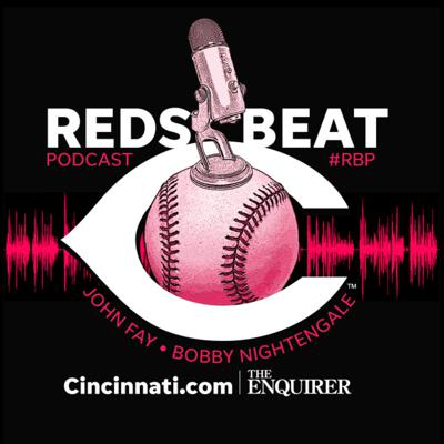 Reds Beat Podcast by Cincinnati Enquirer and http://Cincinnati.com, hosted by John Fay and Bobby Nightengale.