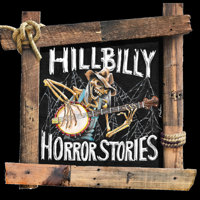 Hillbilly Horror Stories is a mostly paranormal show hosted by stand up comedian Jerry Paulley and his wife Tracy. They touch on all things eerie including true stories behind your favorite horror movies, Rock n Roll and the occult, unsolved mysteries and creepy true crime. Serious enough for the true paranormal fan but funny enough for the skeptics! Proud member of Dark Myths Collective.