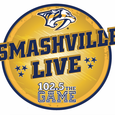 Hear Smashville Live every week with special guests from the Nashville Predators!