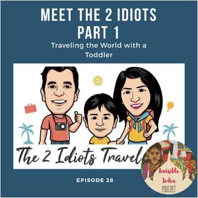 Cover art for 28: Meet the 2 Idiots- Traveling the World with a Toddler- Part 1