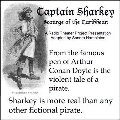 Cover art for Captain Sharkey-Scourge of the Caribbean