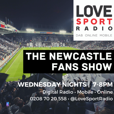 Tune in to the Newcastle Fans Show every Wednesday evening from 7pm.