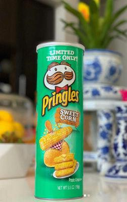 Cover art for Pringles new flavor