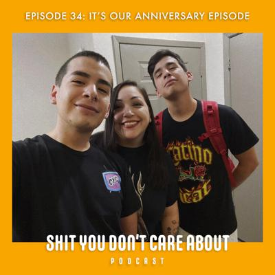 Cover art for 34: It's Our Anniversary Episode!