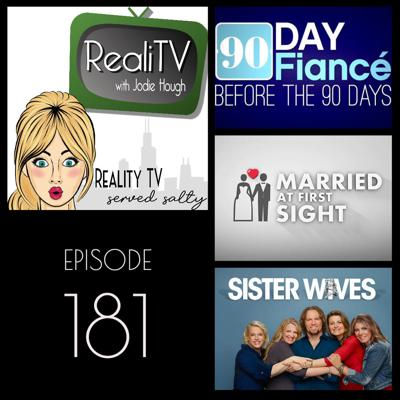 Cover art for 181: 90 Day Fiance, Married at First Sight & Sister Wives