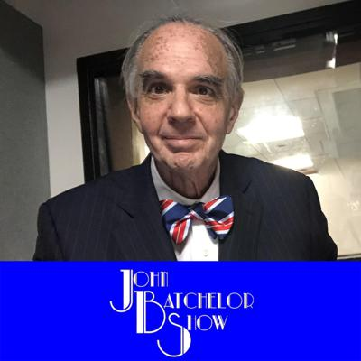The John Batchelor Show is a hard news-analysis radio program on current events, world history, global politics and natural sciences. Based in New York City for two decades, the show has travelled widely to report, from the Middle East to the South Caucasus to the Arabian Peninsula and East Asia.