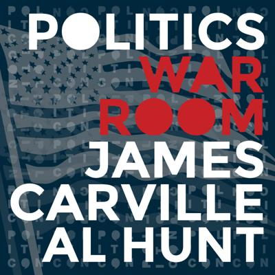 Master political strategist James Carville and revered journalist Al Hunt convenes a war room each week to discuss the battle for the soul of the nation! Join them as they gather the sharpest minds from across the country to see who has the most compelling case for the American people on the issues that matter most.