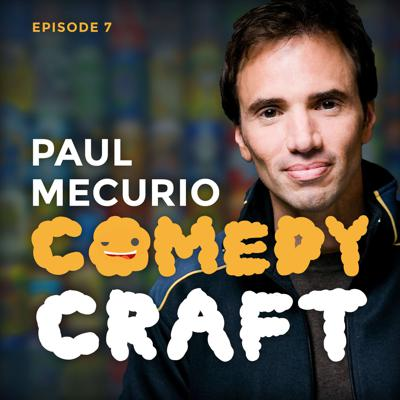 Cover art for Ep. 7 - Paul Mecurio gives permission to speak and drinking