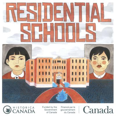 Cover art for New Podcast: Residential Schools