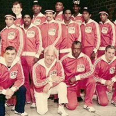 Cover art for The 1976 USA Olympic Boxing Team