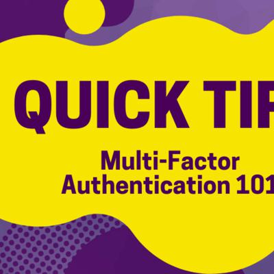 Cover art for Quick Tips: Multi-Factor Authentication & How to Enable it on Office 365