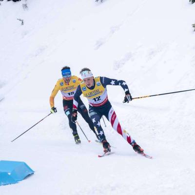 Cover art for Gus Schumacher: Post-Race Interview from the Lahti, Finland Skiathlon