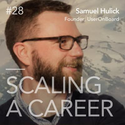 Cover art for #28 Samuel Hulick (Founder, UserOnboard.com) - Find a niche you love, specialize, succeed
