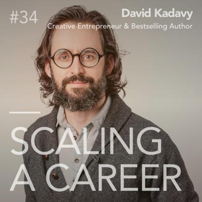 Cover art for #34 David Kadavy (Bestselling Author & Host, Love Your Work) - How well are we connecting with our curiosity?