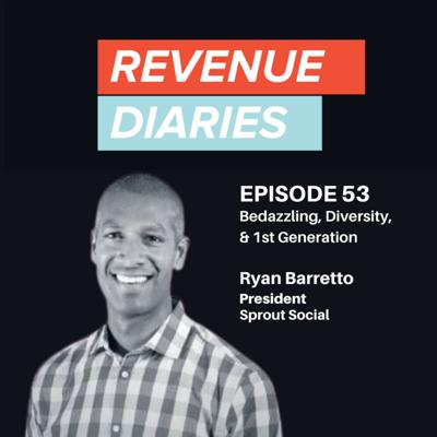 Cover art for Ryan Barretto : Bedazzling, Diversity, & 1st Generation