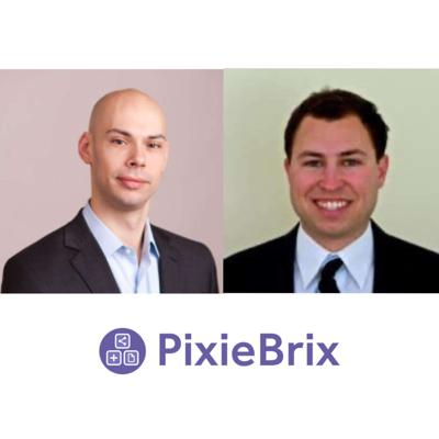 Cover art for Interview with Mike Mirandi and Todd Schiller of PixieBrix