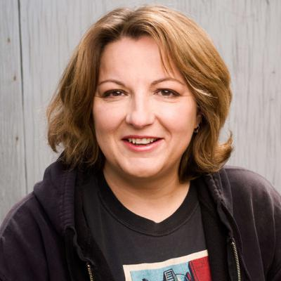 Cover art for 6Q w/Jackie Kashian, 35 year Comedian and Queen of the Dork Forest