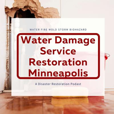 Water Damage Service Restoration Minneapolis