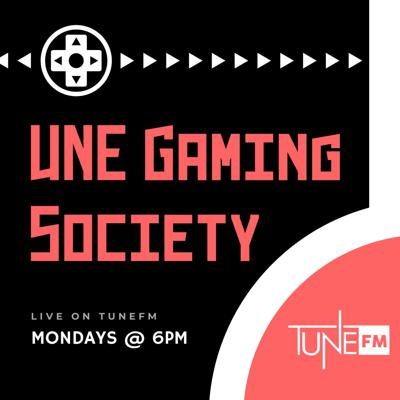 Join the UNE Gaming Society as they catch up on what's happening in the gaming world and what's happening on campus with UNE's Gaming Society.    All music used in this podcast is covered under TuneFM's APRA AMCOS Online Music Licence.