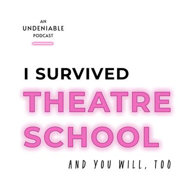 We went to theatre school. We survived it, but we didn't understand it. 20 years later, we're talking to our guests about their experience of going for this highly specialized type of college at the tender age of 18. Did it all go as planned? Are we still pursuing acting? Did we get cut from the program? Did we... become famous yet?