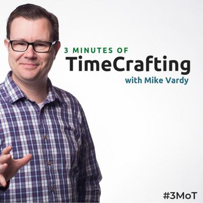 3 Minutes of TimeCrafting (3MoT for short) is a daily show where productivity and time management strategist Mike Vardy shares inspiration, insights, and information to help you craft your time better.