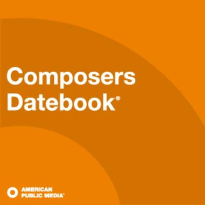 Composers Datebook™ is a daily two-minute program designed to inform, engage, and entertain listeners with timely information about composers of the past and present. Each program notes significant or intriguing musical events involving composers of the past and present, with appropriate and accessible music related to each.