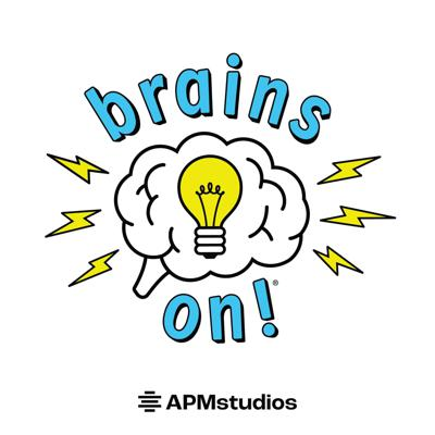 Brains On!® is a science podcast for curious kids and adults from American Public Media. Each week, a different kid co-host joins Molly Bloom to find answers to fascinating questions about the world sent in by listeners. Like, do dogs know they're dogs? Or, why do feet stink? Plus, we have mystery sounds for you to guess, songs for you to dance to, and lots of facts -- all checked by experts.