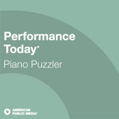 Cover art for Performance Today - Piano Puzzler 04/08/2020