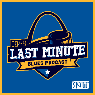 Cover art for Burton & Donny's Last Minute Blues Podcast: HOCKEY is ACTUALLY happening! Does ANY team have an advantage?