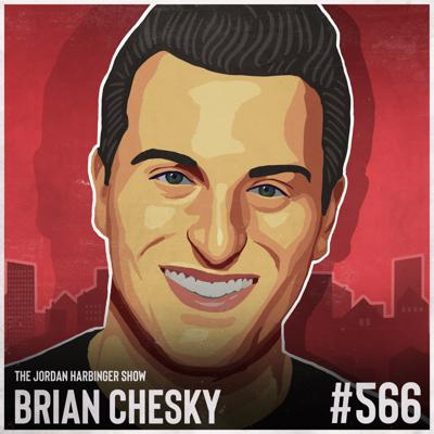 Cover art for 566: Brian Chesky | Lessons Airbnb Learned to Survive the Pandemic