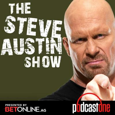 Live from Hollywood, CA by way of the Broken Skull Ranch, Pro Wrestling Hall of Famer, Action Movie/TV star, Steve Austin talks about anything and everything that pops into his brain.  Steve shares tales from his new life, unbelievable past adventures, talks to pro wrestling pals...you name it, Steve's on it.  For more episodes, go to podcastone.com/premium Got questions? questions@steveaustinshow.com