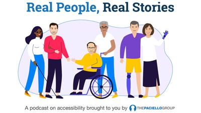 Cover art for Real People, Real Stories 2020-E8: Jeff Steinberg, Ministry Singer / Speaker / Author / Motivational Entertainer ADA Consultant