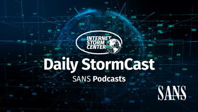 SANS Internet Stormcenter Daily Network/Cyber Security and Information Security Stormcast