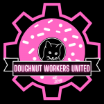 Cover art for Union-busting at Voodoo Doughnuts